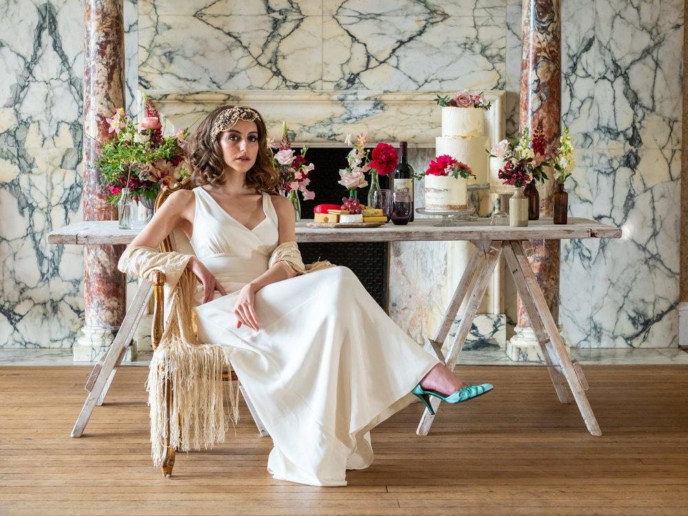 Margot's wedding - Arty and Elegant Styled Shoot