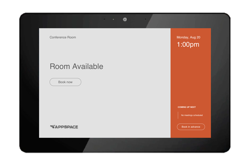 Room Management Appspace Digital Signs Kiosks Iptv And More