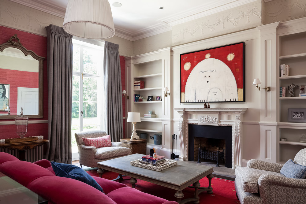 Country House, Middlesex - Red Room