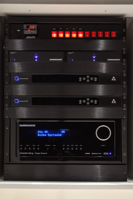 Basement Cinema - Amplification Rack