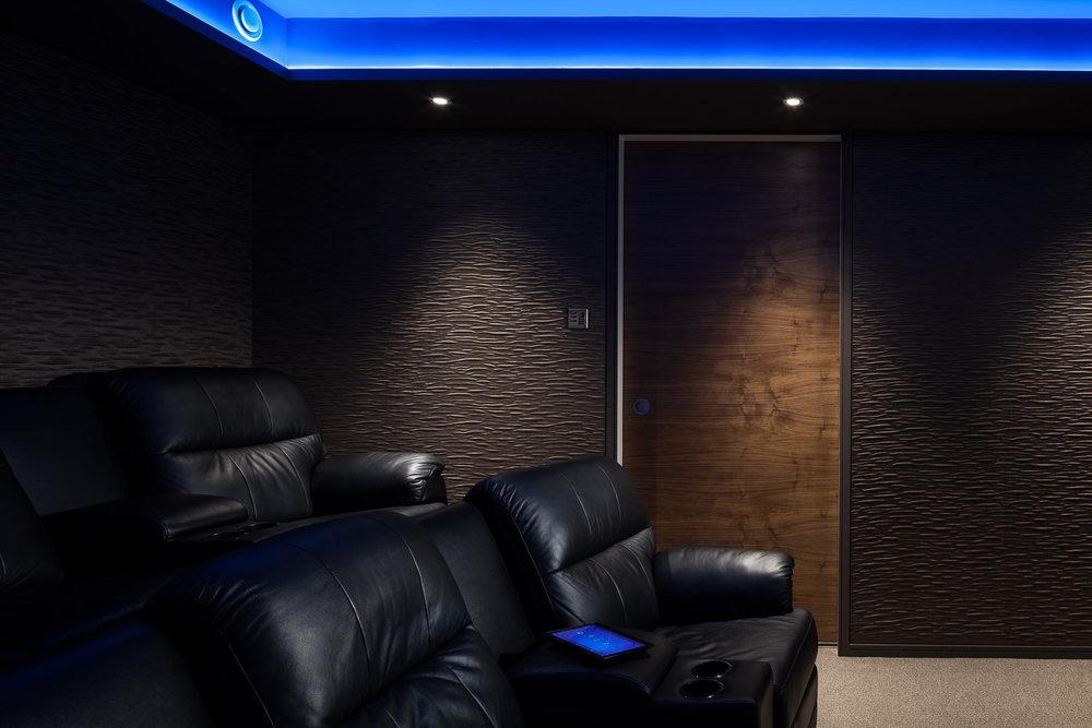 Basement Cinema - Side view