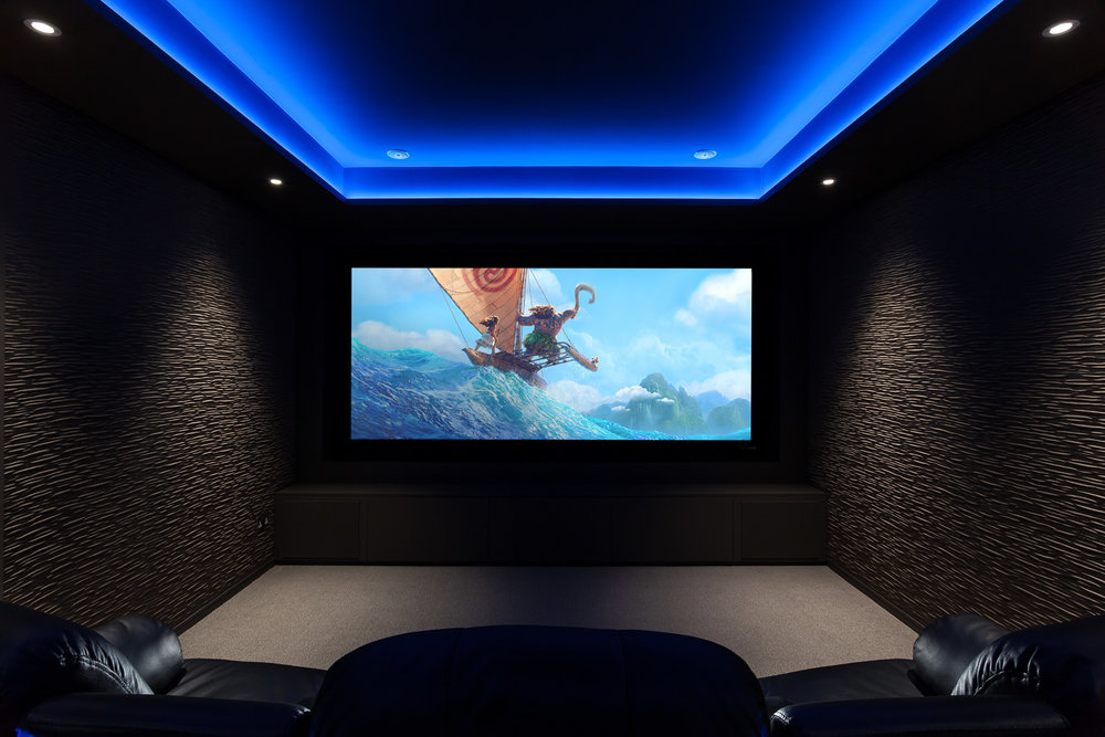 An Equippd Cinema Room - Moana