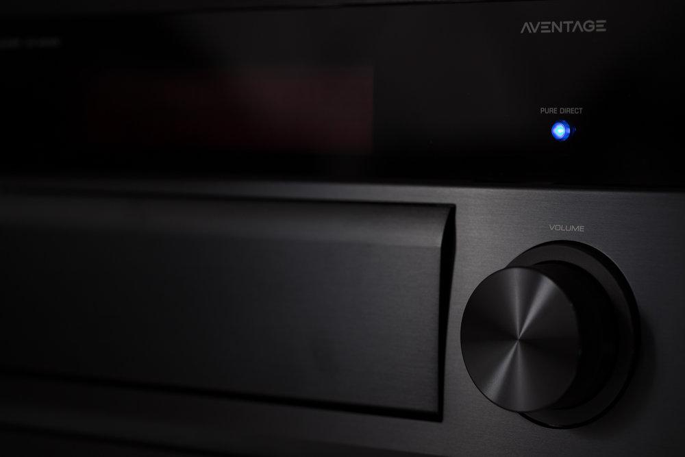Equippd Hidden Cinema - Yamaha AV Receiver
