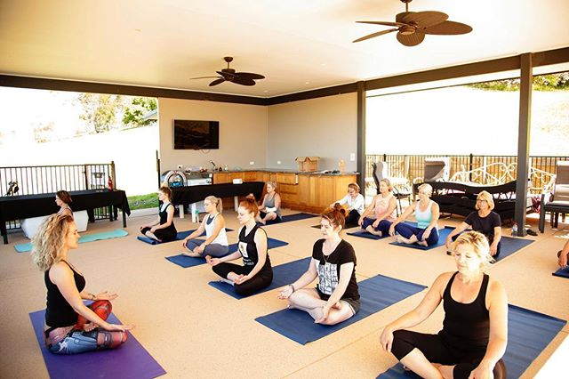 Great shot poolside at our last YOGA + WINE Class and a Glass event. Book your next experience with us in the Hunter Valley and come sip and stretch your stress away. Great for team building & bonding, hens parties/weekends, conferences and private groups. We have accommodation available @sovhill although, we are happy to come to you at your venue too! YV cater to personalised yoga, meditation/mindfulness events and experiences tailored to your needs and love to incorporate 🍷 🥂 🍾 seeing as we are in the wine country so wine not? . . . . . #winenot #wine #winecountry #yoga #yogainthevines #yogainthevineshv #yogandwine #wineandyoga #conference #huntervalley #lovedale #mindfulness #meditation #experience #event #visitnsw #destinationnsw #newcastle #sydney #weekender #hens