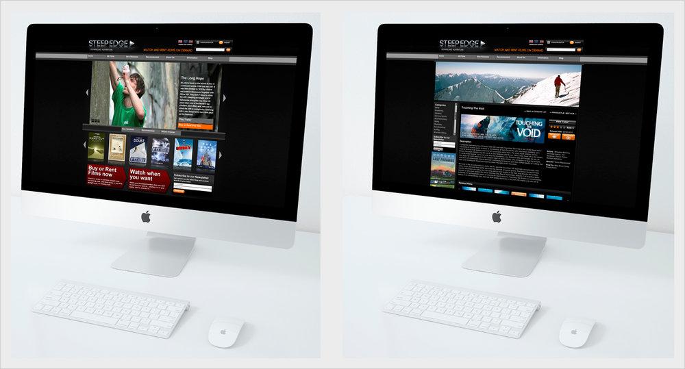 Steepedge website