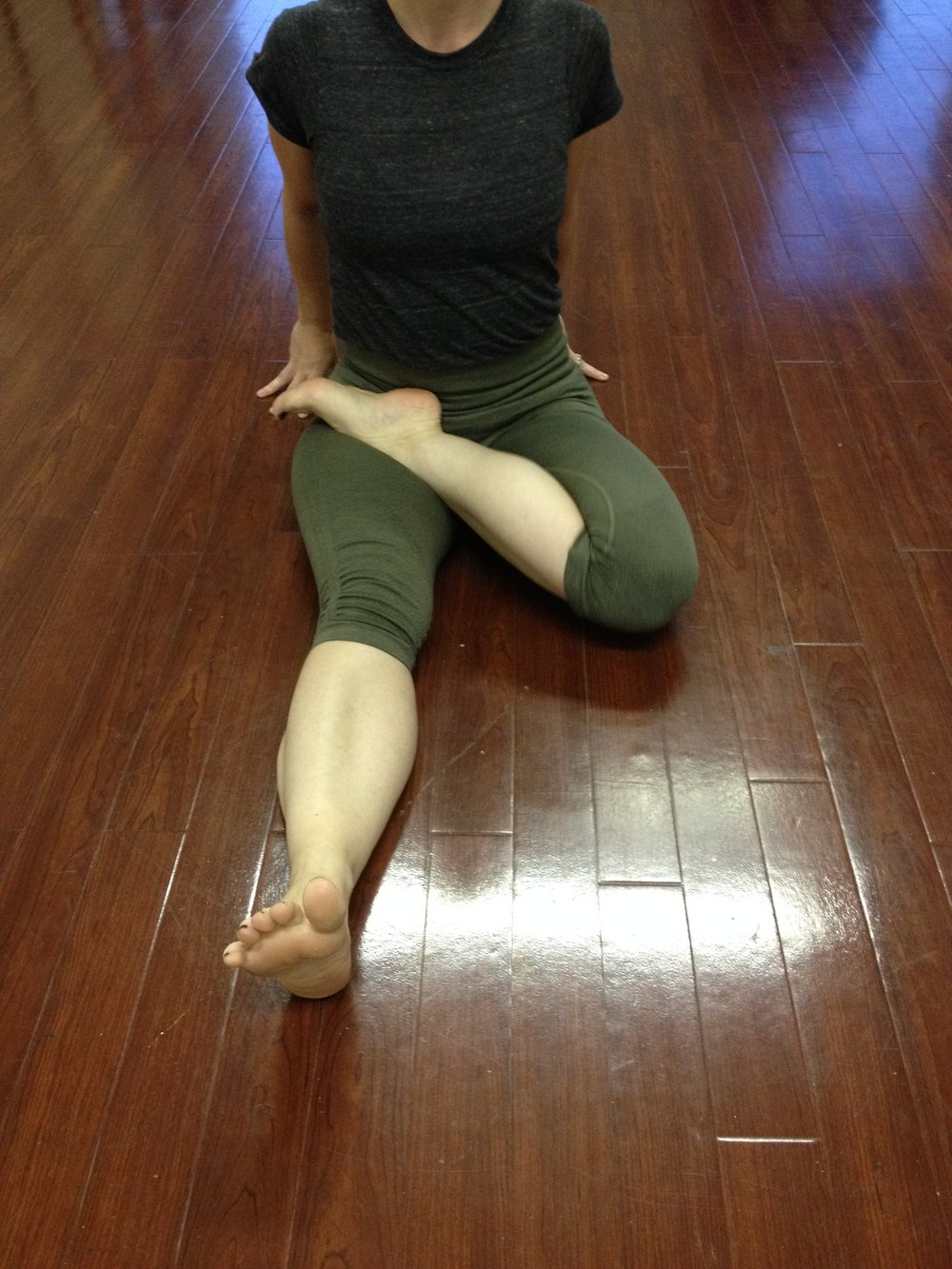 Left Leg Padmasana