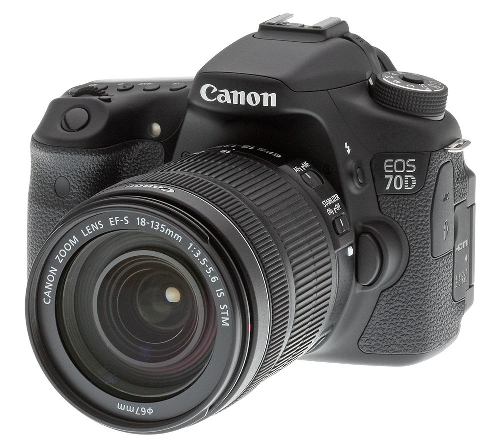 Still photography and video photography Canon 70D