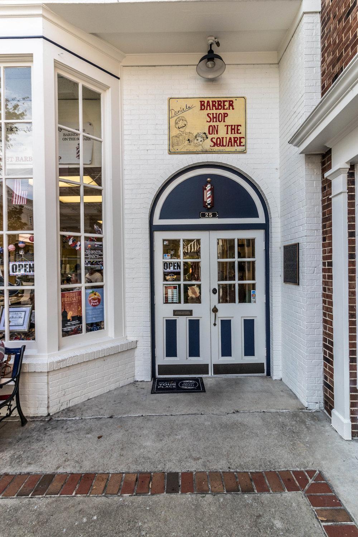 Daniel's Barber Shop on the Square