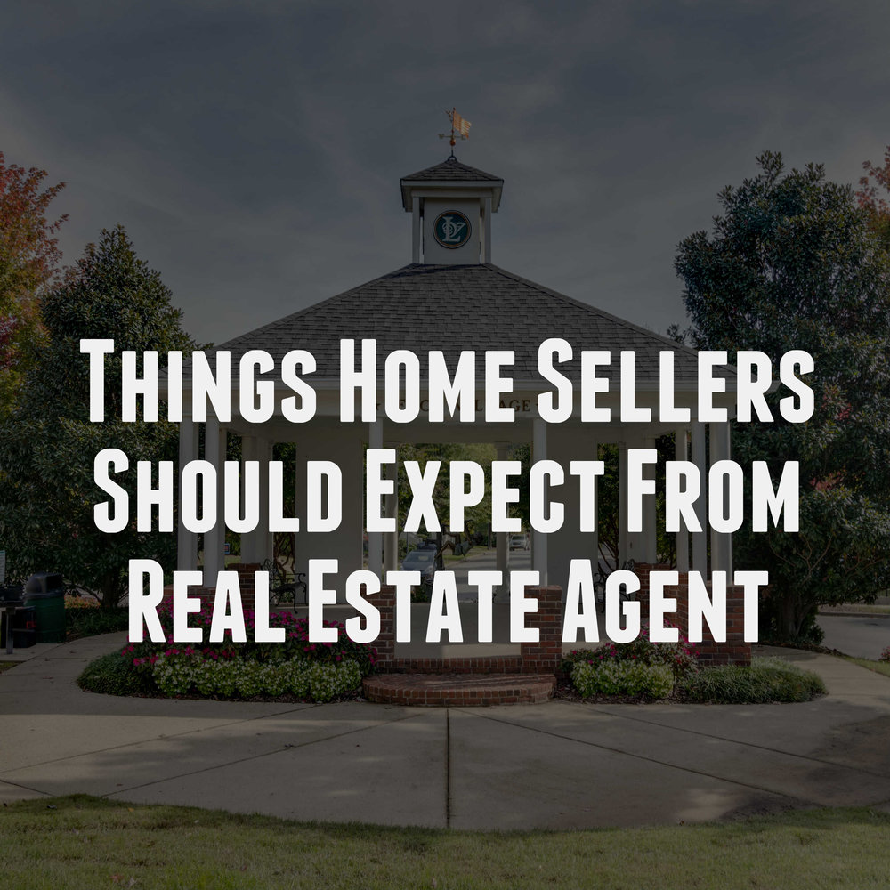 Things Home Sellers Should Expect From Their Nashville Real Estate Agent