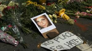 A memorial for Heather Heyer in Charlottesville, Va. (CNN)