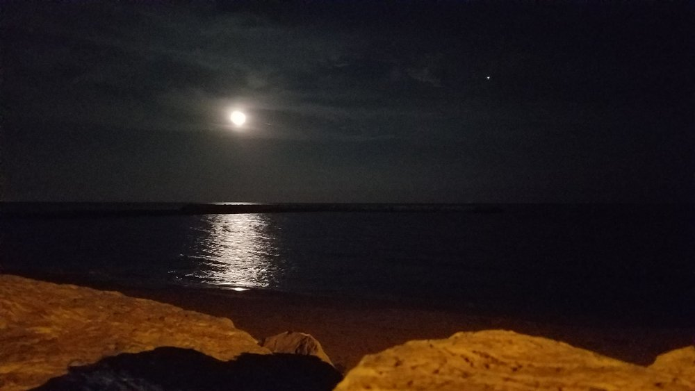Moonlight, Saintes-Maries-de-la-Mer, France