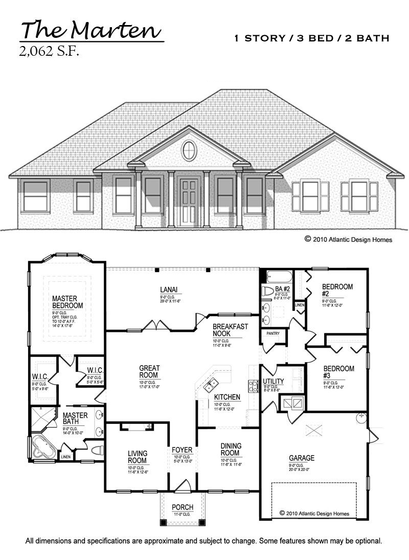 Floor Plans — Atlantic Design Homes