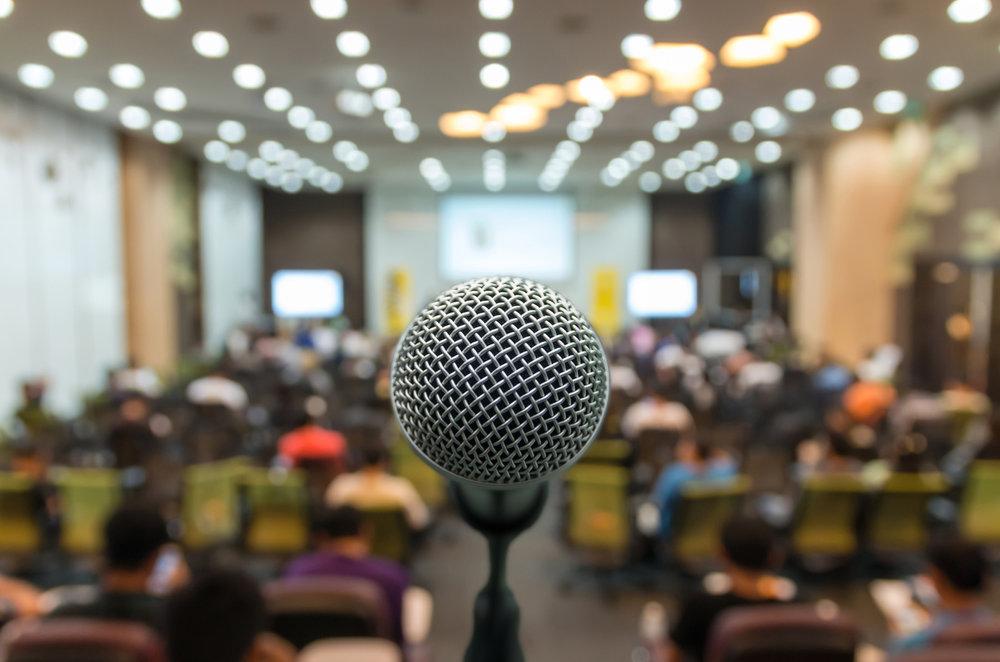 Curso de Técnicas de Apresentação e Oratória - Aguardem novas turmas