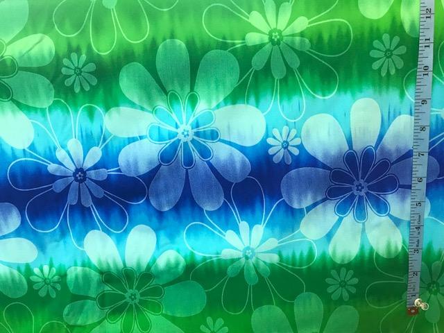 Bora Bora 074   sapphire, royal blue, turquoise, kelly green