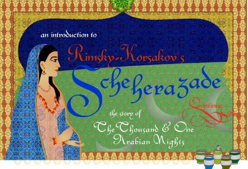 Rimsky-Korsakov's Scheherazade Interactive game introduction