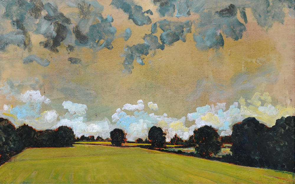 Clouds Over Pasture