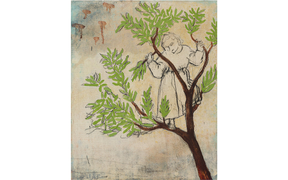 Study for Boy Up Tree (after Giotto)
