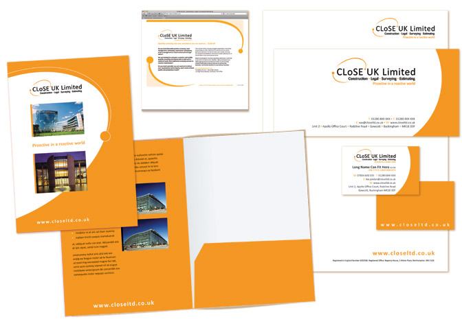 Designing folders and Inserts:  Design and print.
