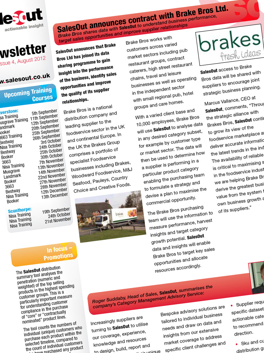 Designing newsletters : Design and print.