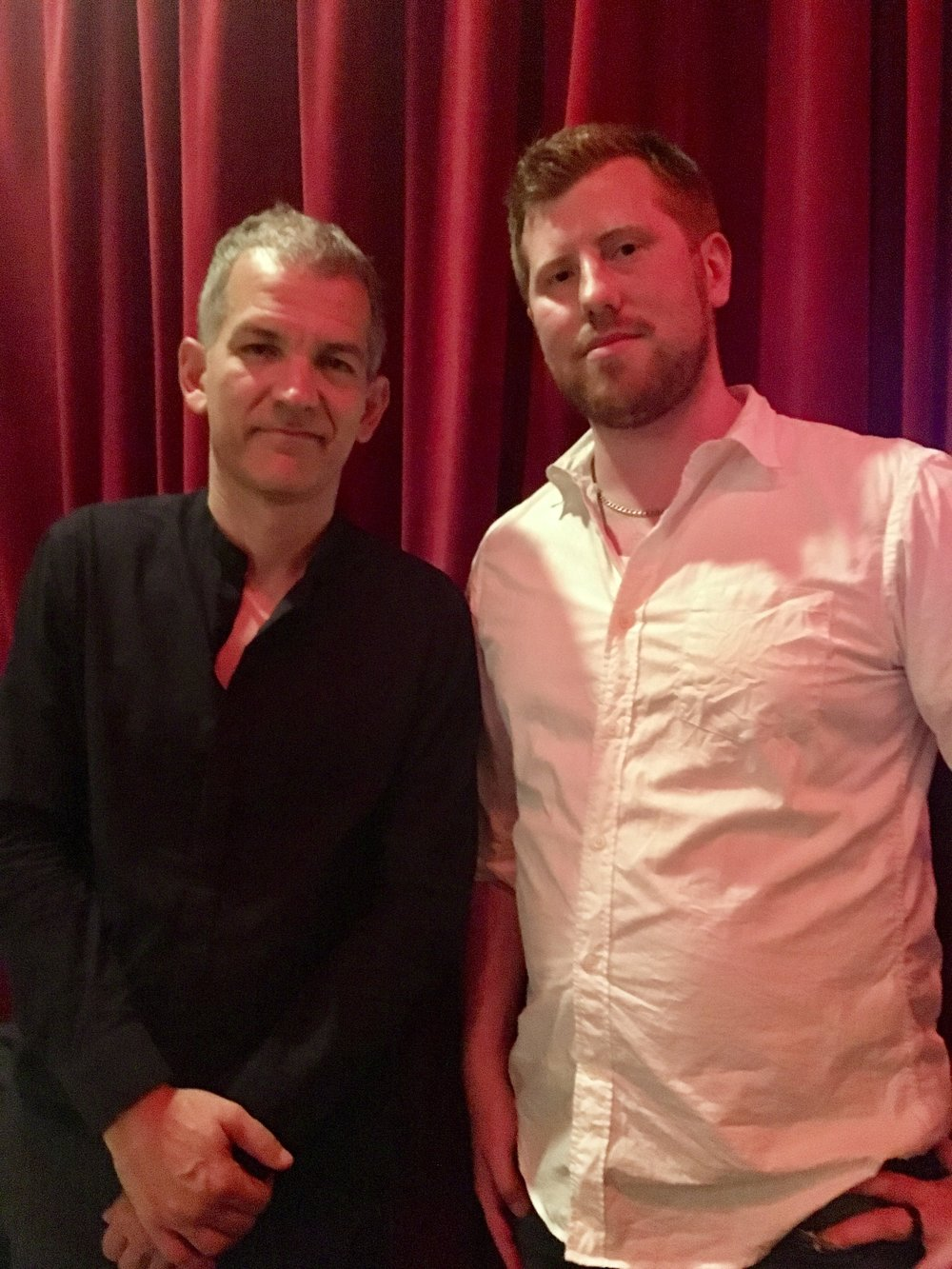 Hanging out with Brad Mehldau