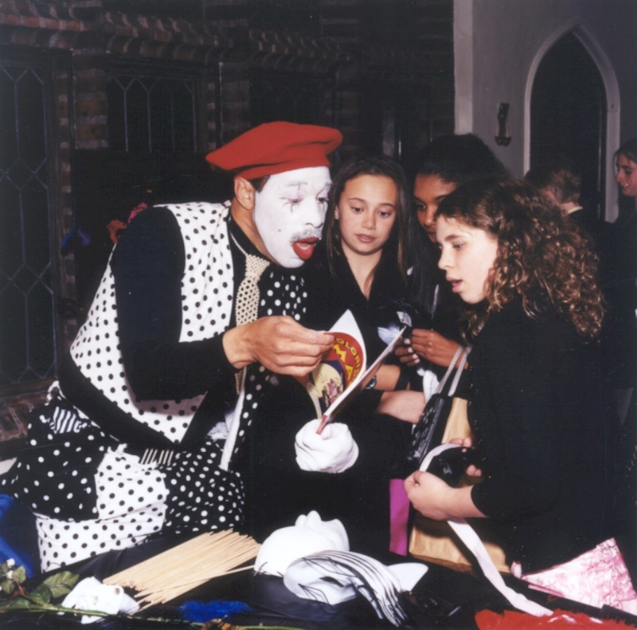 Mime - Mimes in classic black and white attire meet, greet and entertain your guests in attendance, adding just the right amount of humor and artistry.