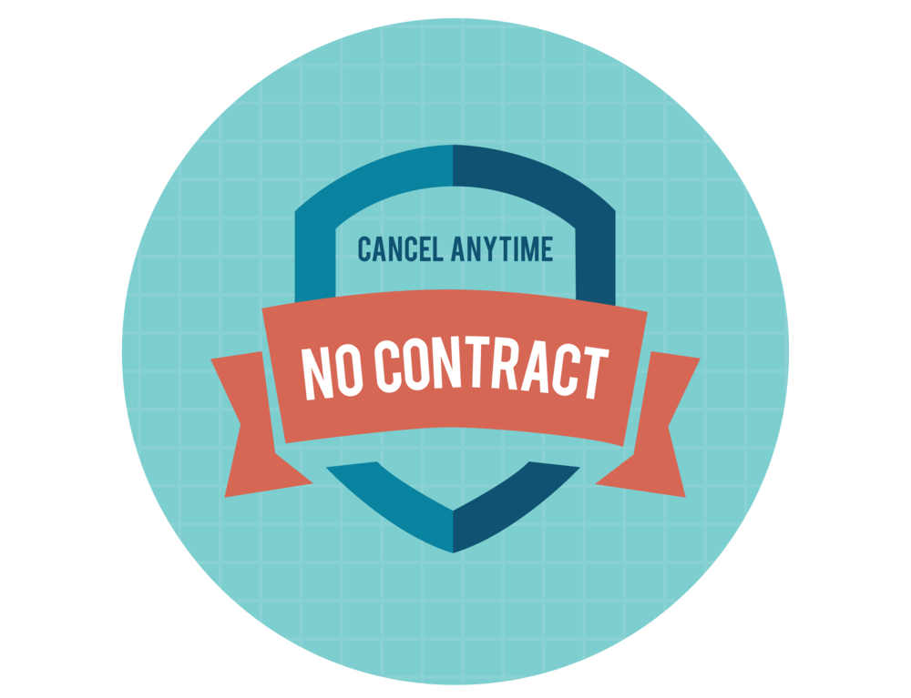 Cancel Anytime Guarantee - Most social marketing companies will sign you to a long term contract that you cannot get out of. With us. you can tell us you want to cancel at anytime. All we ask is you provide a 30 day notice.