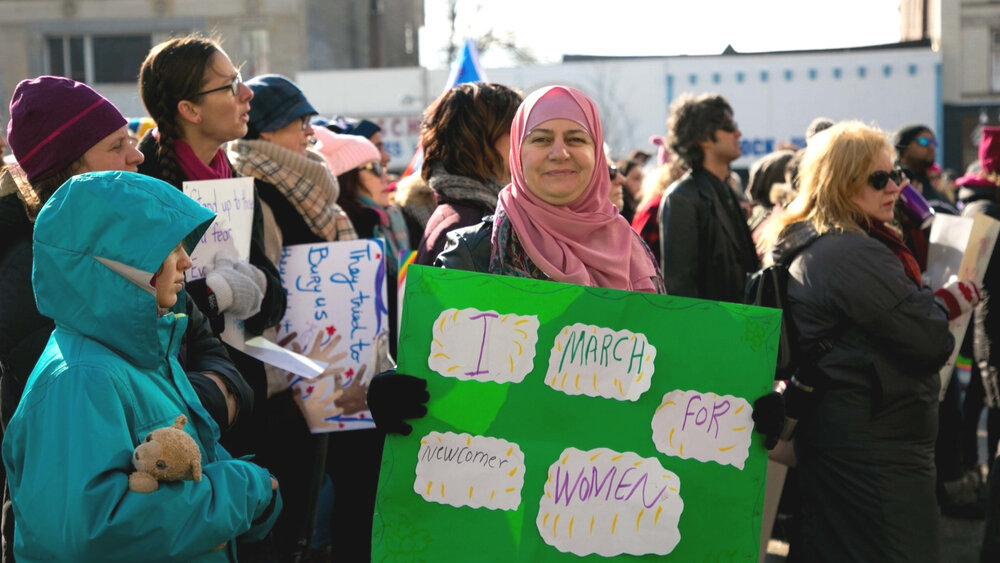 I March For Newcomer Women