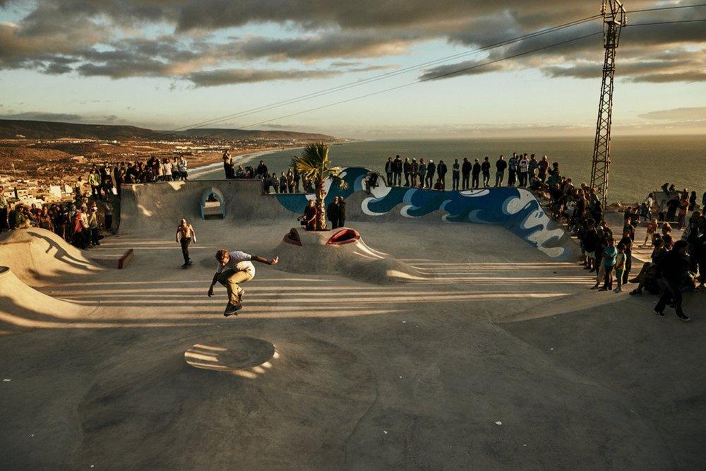 Make Life Skate Life - Taghazout, Morocco