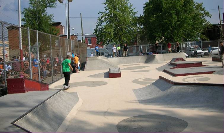 Pops Skatepark - Kensington, Philadelphia, Pennsylvania
