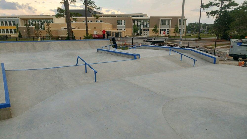 Matt Hughes Skatepark - Myrtle Beach, SC
