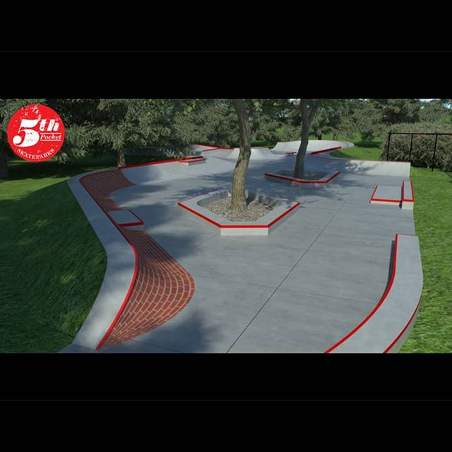 Here's a few perspective shots of the design we put together for Lititz borough.  Huge thanks to @lancasterskateparks and all the volunteers helping to fundraise and advocate for this project! #5thpocketskateparks #5thpocketdesign #skateparkdesign #lititz #lititzskatepark
