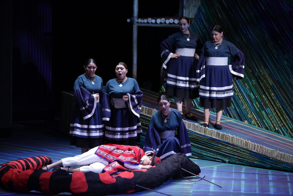 Tamino Marlon Valverde Damas 1 Salome Condor . María Fernanda Argoti .Natacha Condor . Angela Valencia . Ariana Abadia