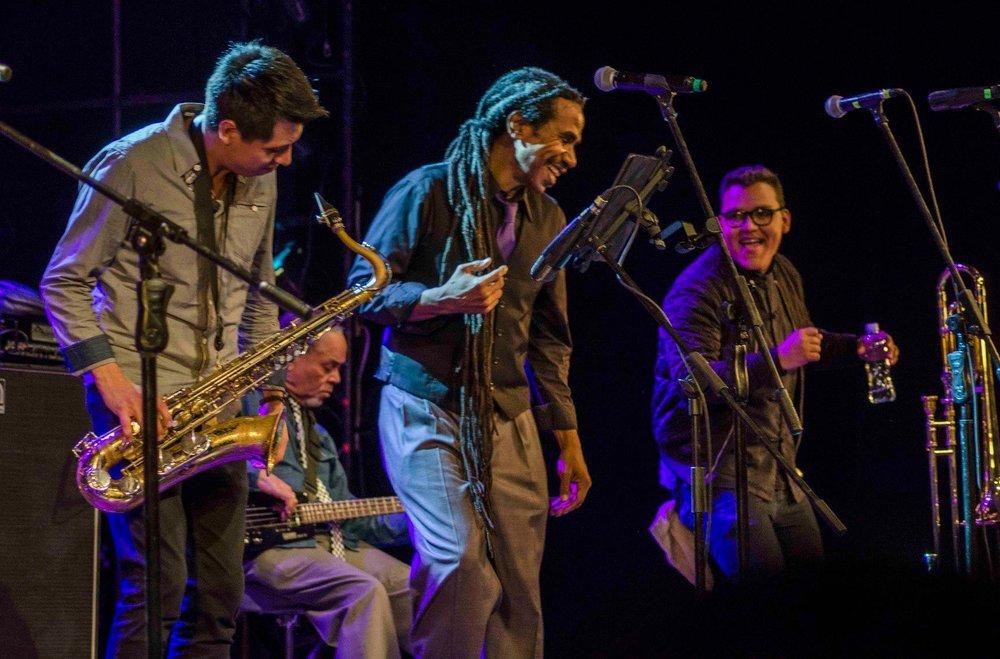 The Skatalites. Festival Ecuador Jazz. Foto Ricardo Centeno