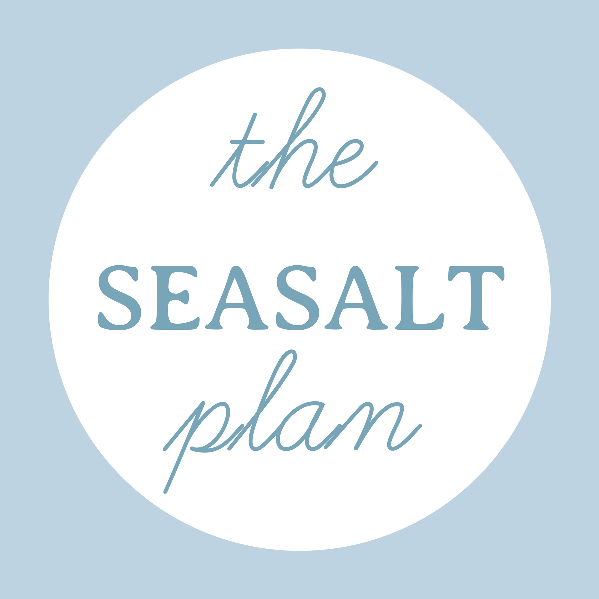 the SEASALT plan