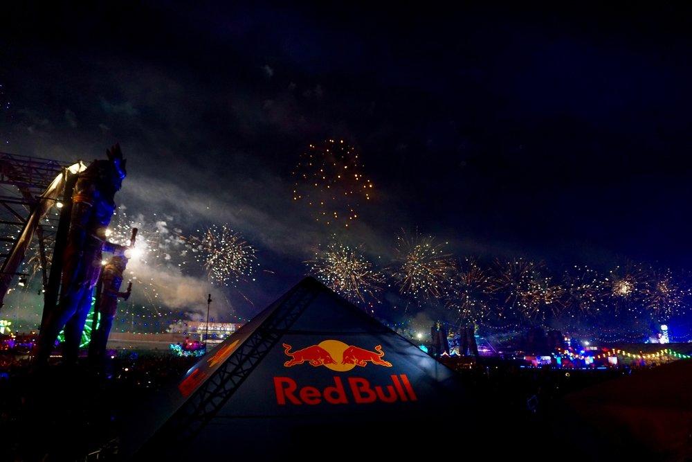 Redbull firework magic