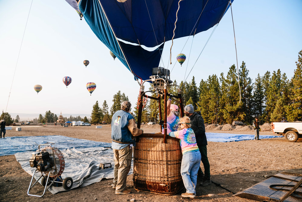 Oregon Eclipse Gypsy Flights Hot Air Balloons