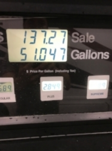 How does a 50 gallon tank fill up 51 gallons?! Miracles, I tell you.