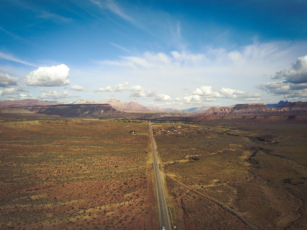 Drone footage in Utah captured with a DJI Mavic Pro.
