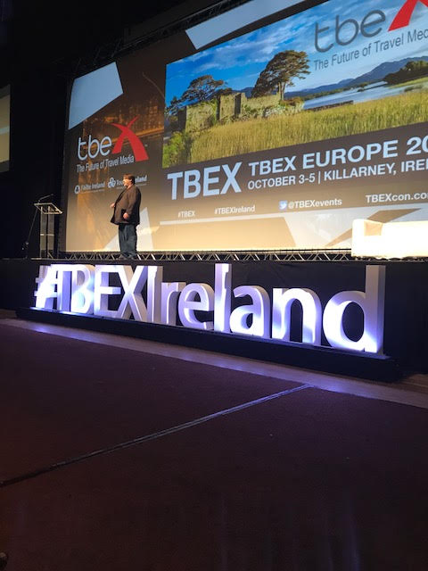Gary Arndt at TBEX Ireland
