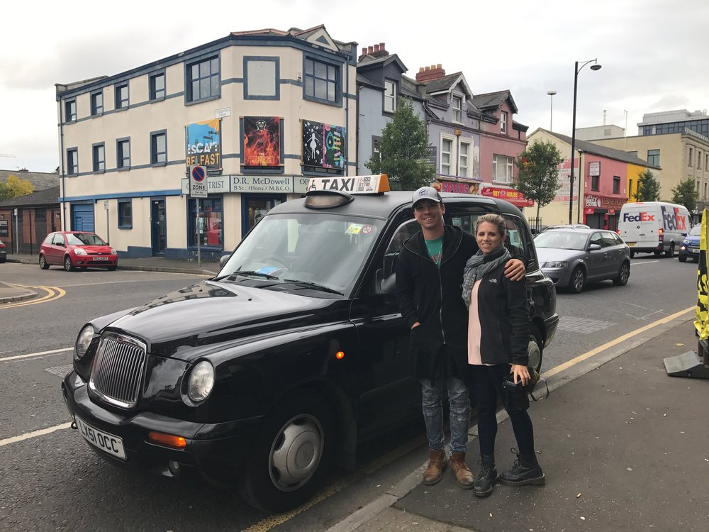 A Black Cab Tour with Belfast Mural Experience: We highly recommend it!