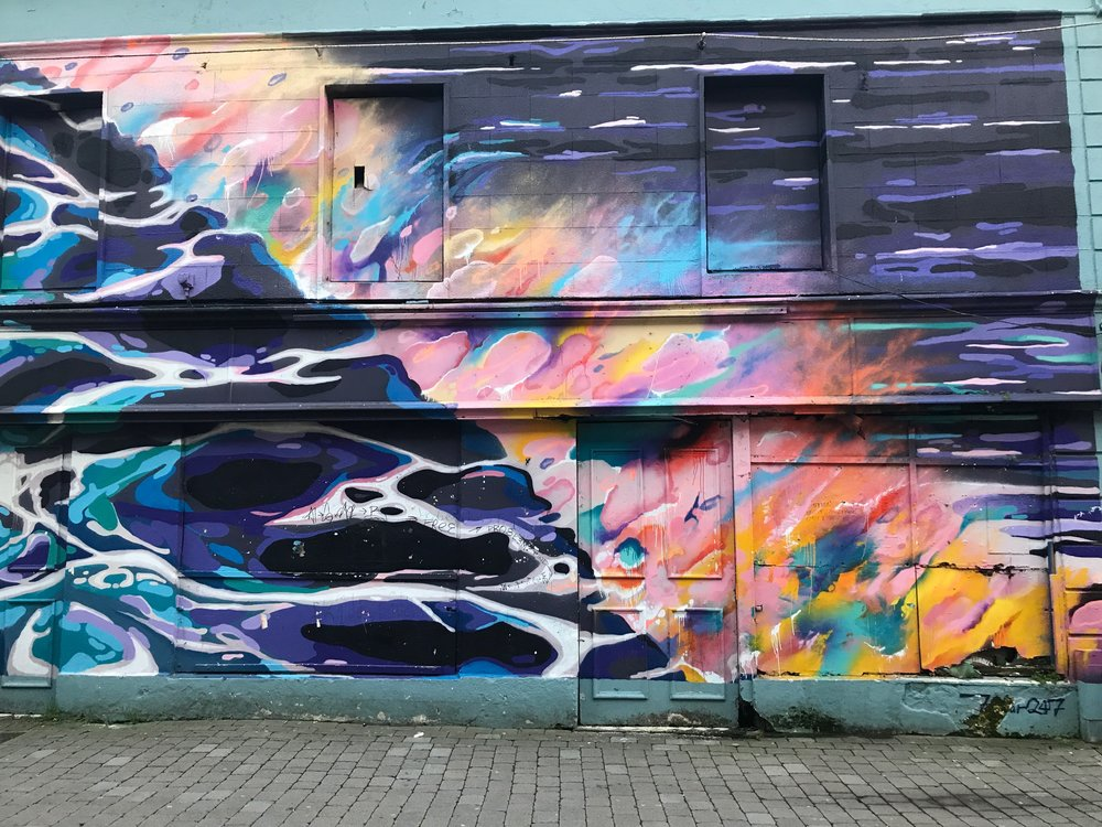 Street art found in Galway, Ireland