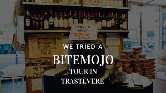 Bitemojo | Rome | Food Tour | Trastevere