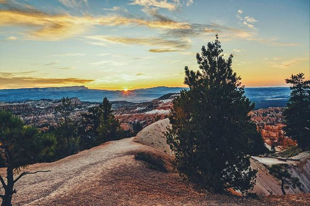 Things were simple: open roads, open hearts. Vast landscapes leading to transformative experiences. There's really no place like the west. 🌄🚌 • • #tb #betterdays #utahisrad #utah #utahgram #brycecanyon #nationalpark #sunrise_and_sunsets #sunsetporn #sunrays #lifeofadventure #letsgosomewhere #exploreeverything #roadtrippin #roadtripusa #americathebeautiful #americandream