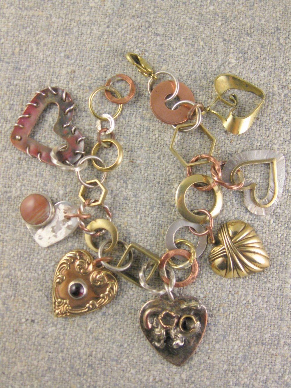 heartcharm bracelet