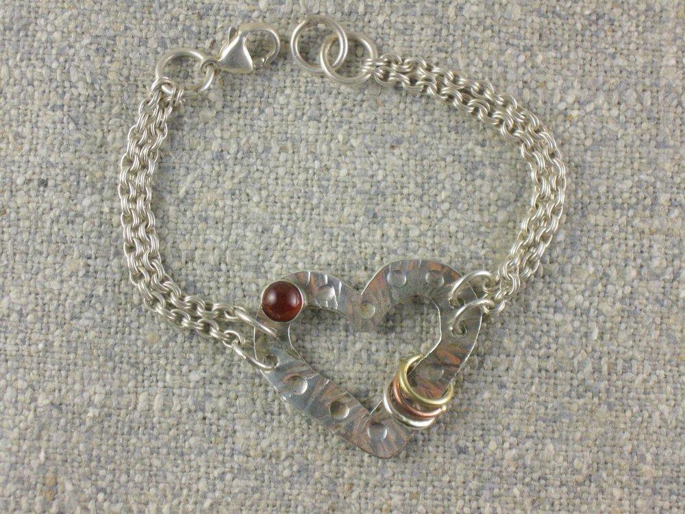 open heart bracelet