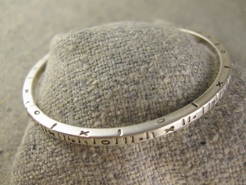 mini stamp bangle