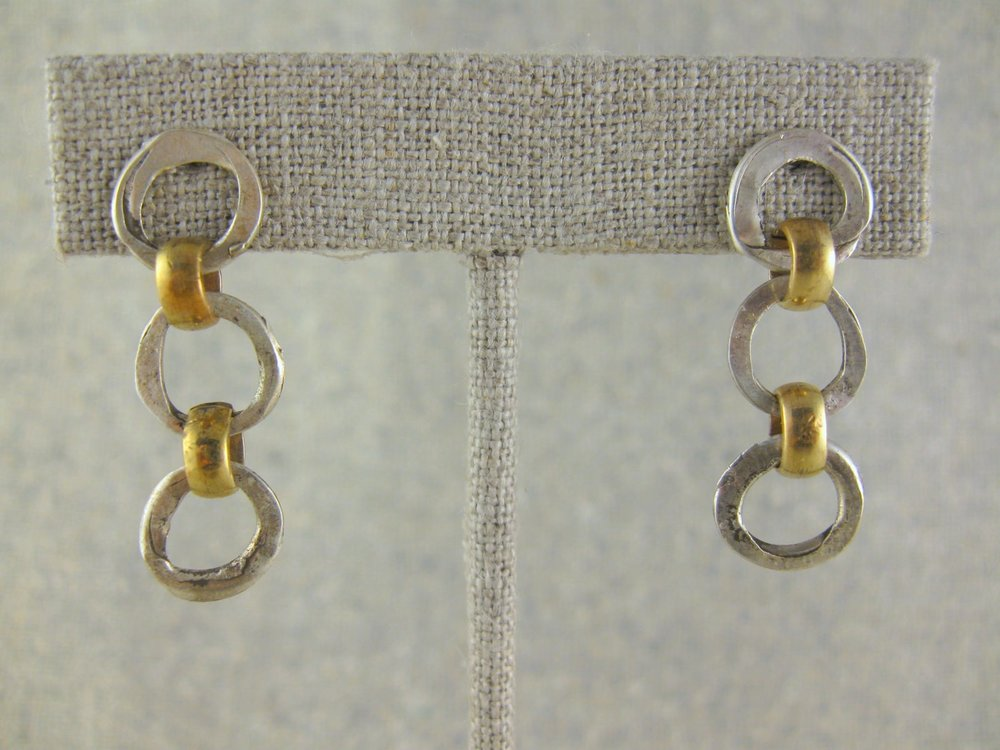 mini chains earrings