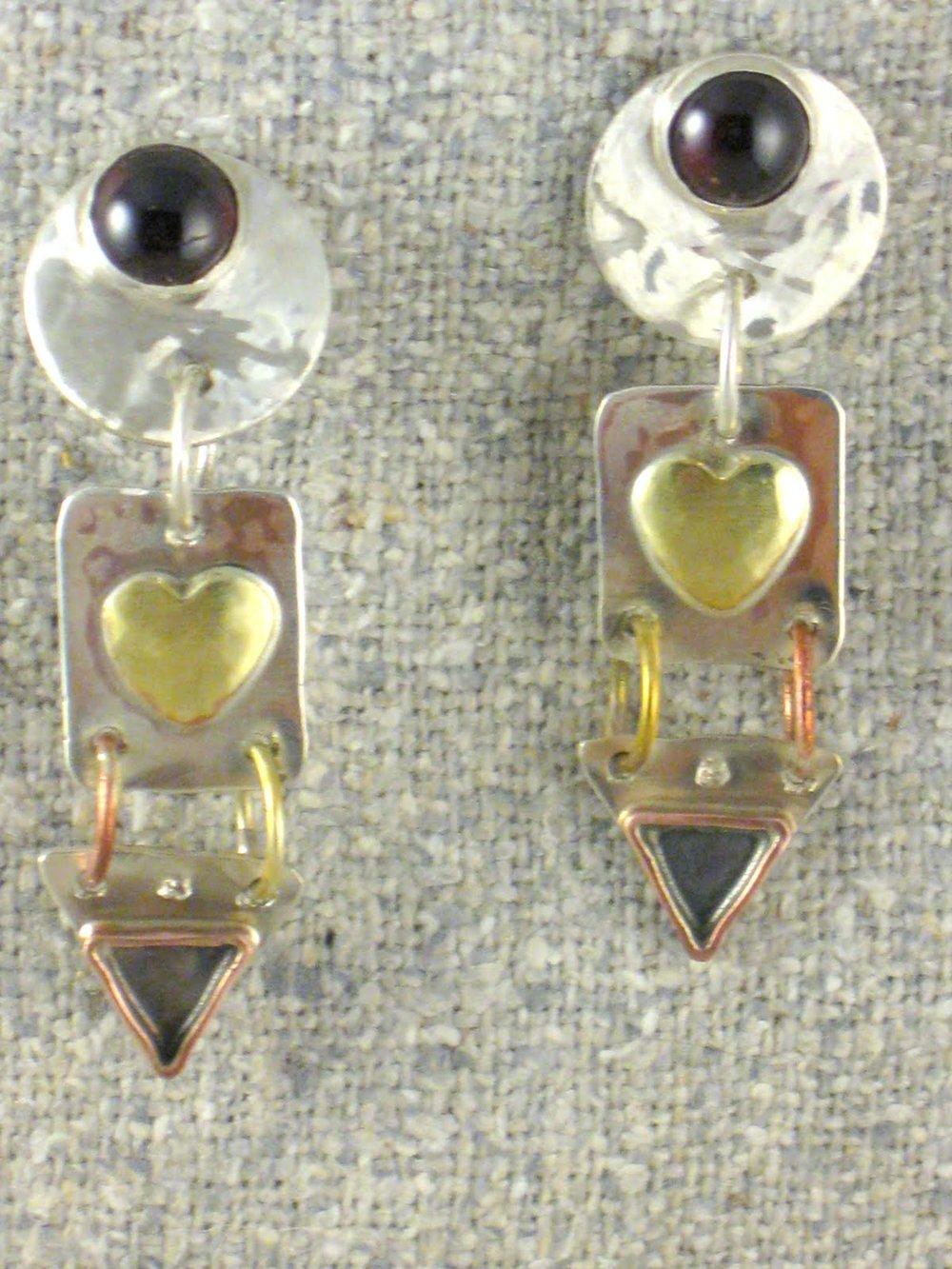 triplets earrings(retired}