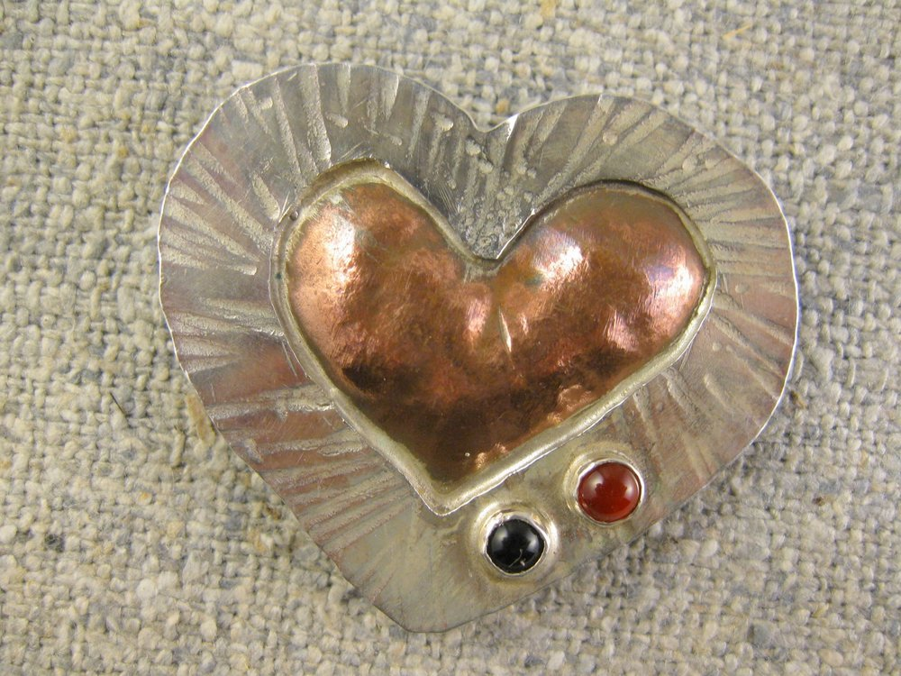 potential heart pin