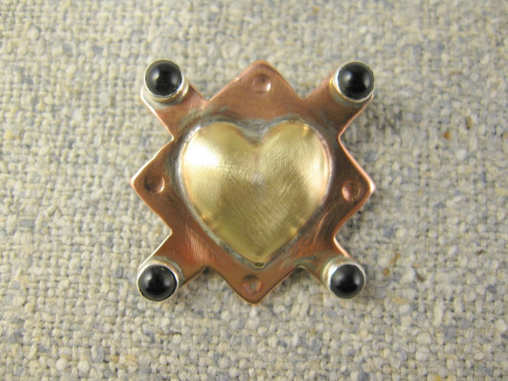 true heart pin
